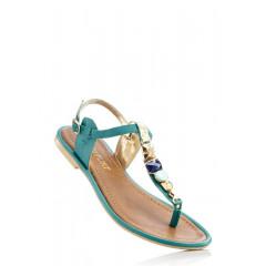 Sandale joase din piele