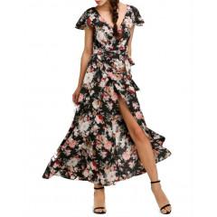 Rochie cu spatele decoltat