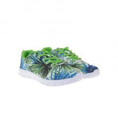 Pantofi sport cu imprimeu floral
