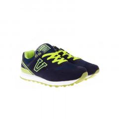 Pantofi sport albastru cu verde
