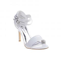 Sandale albe de ocazie