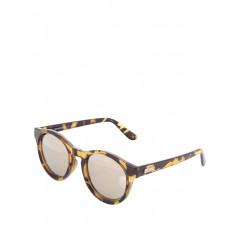 Ochelari de soare cu lentile gri si rama animal print
