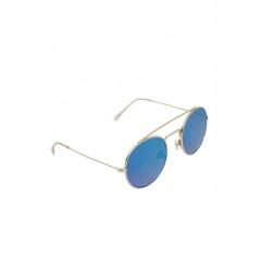 Ochelari de soare cu lentile oglindate si rame din metal