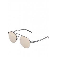 Ochelari de soare rotunzi cu lentile roz Le Specs Spartan