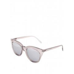 Ochelari de soare cu rama groasa si lentile gri Le Specs Halfmoon Magic