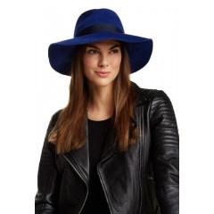 Palarie eleganta albastra Grace Hats