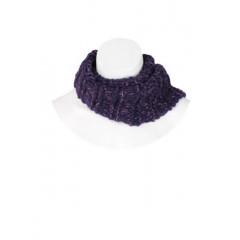 Fular tricotat mov