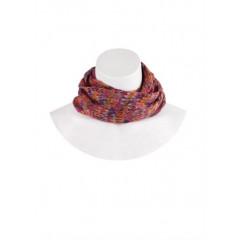 Fular multicolor, tricotat