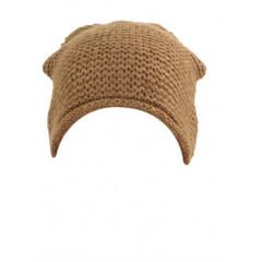 Caciula maro tricotata