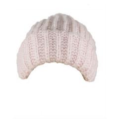 Caciula roz tricotata