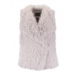 Vesta pufoasa din blana artificiala Vero Moda