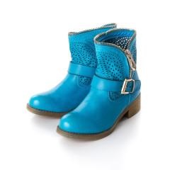 Cizme albastre perforate