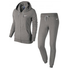 Trening Nike gri cu gluga