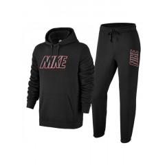 Trening Nike negru cu gluga