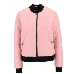 Jacheta bomber Vero Moda Milla roz