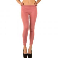 Colanti clasici, de culoare roze, cu talie medie
