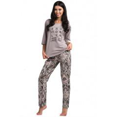 Pijamale lungi cu imprimeu