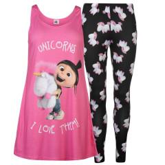 Pijamale roz cu personaj din Despicable Me