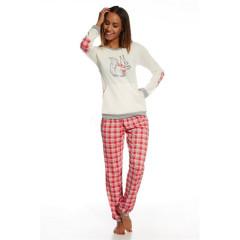 Pijama din bumbac cu veverita