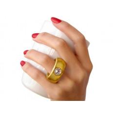 Cana cu inel cristal Swarovski