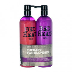 Set Bed Head Dumb Blonde Shampoo + Reconstructor