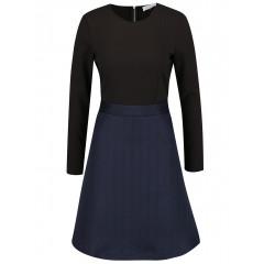 Rochie albastru & negru