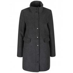 Palton gri inchis Vero Moda