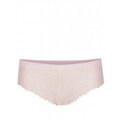 Chiloti roz pal din dantela