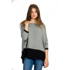 Pulover tricotat oversized
