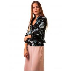 Jacheta de primavara/vara cu imprimeu floral