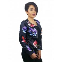 Jacheta cu imprimeu floral