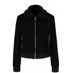 Jacheta scurta din blana artificiala