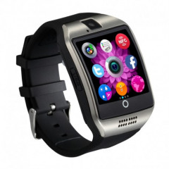 Smartwatch chic Vogue Q18 Curved cu Camera si Telefon 3G Alb Display, cu Bluetooth
