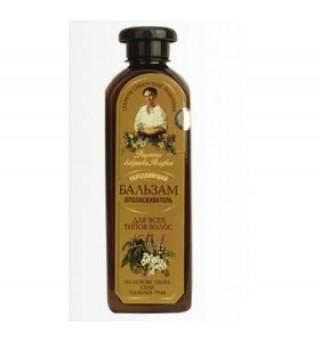 Balsam fortifiant impotriva caderii parului pentru toate tipurile de par 350 ml Retetele Bunicii Agafia