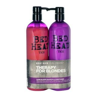 Set Bed Head Dumb Blonde Shampoo + Reconstructor