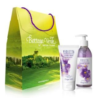 Set cadou cu parfum de violete